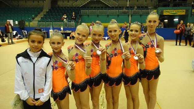 Jihočešky se vracely z MČR s medailemi
