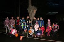 Drakiádu si užily děti v Doubravě na Českobudějovicku.
