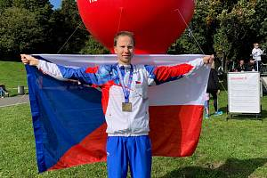 Vytrvalec Michal Stanovský si v polské Varšavě doběhl v maratonu neslyšících pro zlato