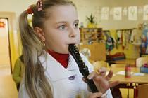 Do základní školy J.Š.Baara v Českých Budějovicích se přihlásila do prvního ročníku i Aneta Lefanová.