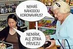 Národ se baví vtipy na téma koronavirových opatření.