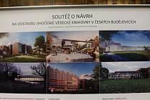Soutěž o návrh na dostavbu jihočeské vědecké knihovny v Českých Budějovicích.