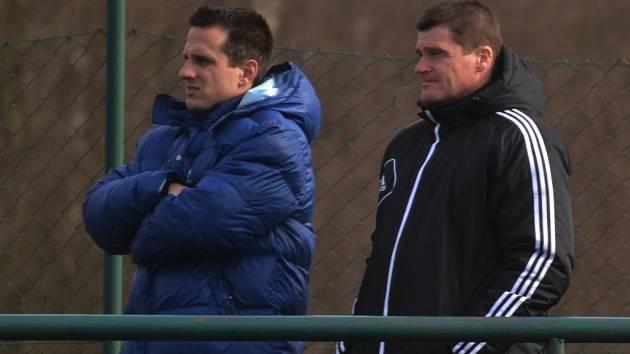 Přípravou A-týmu Dynama byli zatí m pověřeni asistenti Martin Vozábal a Pavol Švantner.