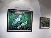Ve Wortnerově domě vystavují Aleše Krejču.
