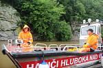 Na skále nad Vltavou mezi Hlubokou a Purkarcem je nová via ferrata, vhodná je i pro rodiny s fyzicky zdatnými dětmi.