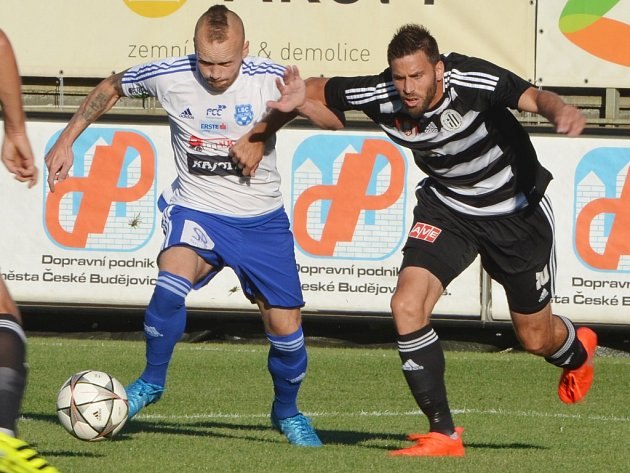 Michal Klesa v minulém utkání Dynama doma se Znojmem atakuje Javůrka.