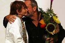 Režisérka Věra Chytilová navštívila 3. srpna mezinárodní filmový a multižánrový Festival nad řekou Písek. Převzala zde cenu za celoživotní dílo z rukou Terryho Gilliama.