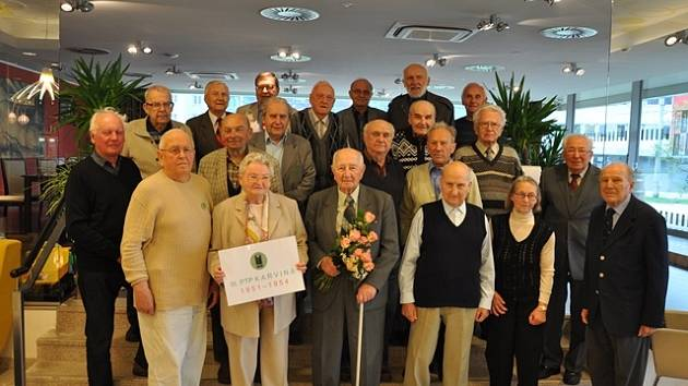 Účastníci setkání PTP v českobudějovickém hotelu Clarion.