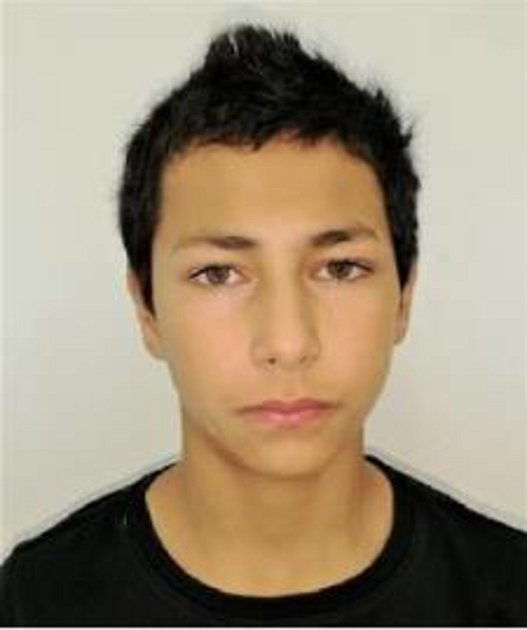 Třináctiletý Petr Karala.