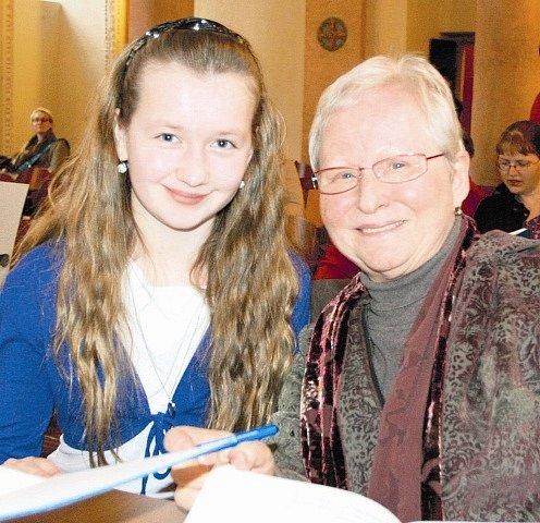 Scénář napsala jindřichohradecká rodačka Markéta Zinnerová (vpravo).