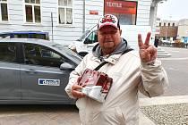 Úspěšný tipér z minulého kola soutěže Josef Kloubský.