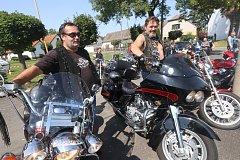Moped cup se konal v Horním Bukovsku.
