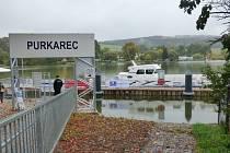 Slavnostního otevření se purkarecké přístaviště za necelých 22 milionů korun dočkalo v uplynulém týdnu.