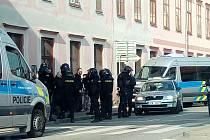 Pohyb a chování fotbalových fanoušků budou monitorovat policisté.