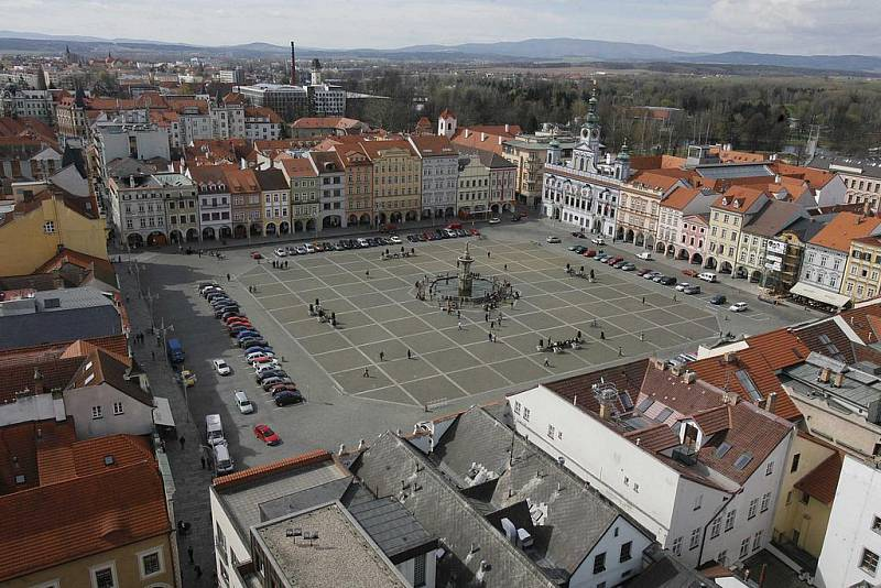 České Budějovice. Ilustrační foto