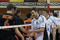 Ani ve druhém utkání EGE nevzdorovalo Jihostroji příliš dlouho. Vedoucí tým extraligy vyhrál 3:0, první utkání 3:1 a postupuje do 4. kola Českého poháru.