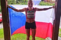 Barbora Havlíčková veze domů z MS v běhu do vrchu stříbro.