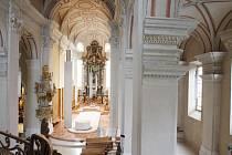 Opravená katedrála svatého Mikuláše.