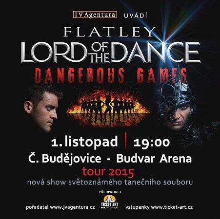 Lord of Dance míří ido Českých Budějovic.