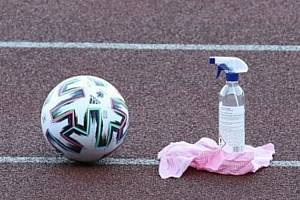 Pandemie zasáhla i fotbal. V jihočeských klubech vyprávěli o průběhu svazové dezinfekce.