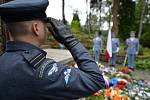 Pietní akt u příležitosti 65. výročí úmrtí bývalého československého prezidenta Edvarda Beneše se konal 3. září u jeho hrobky ve vládní vile v Sezimově Ústí.
