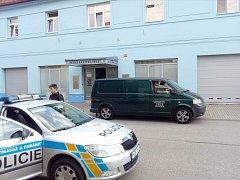 Policisté ve čtvrtek zasahovali  na služebně strážníků.