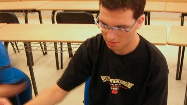 Martin Cuhra, nejlepší junior do 20 let na jihu Čech.