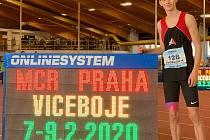 Petr Svoboda při loňském halovém mistrovství.