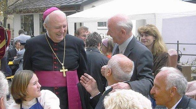 Zemřel biskup Eder.