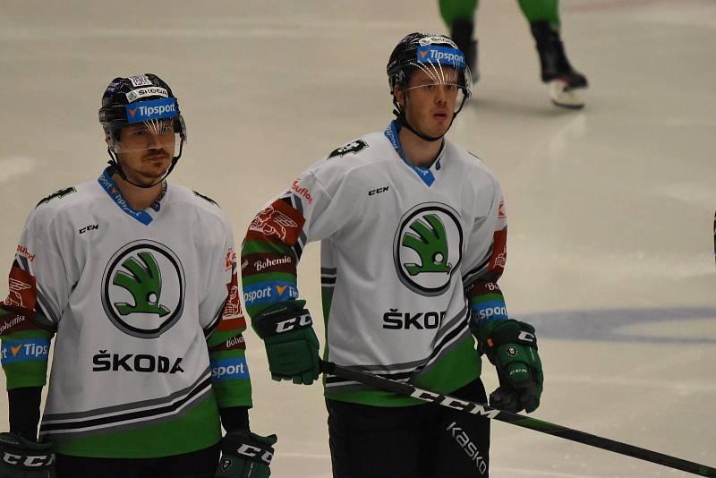 Hokejová extraliga: Motor ČB - Mladá Boleslav