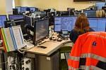 Operační středisko záchranky. Ilustrační foto.