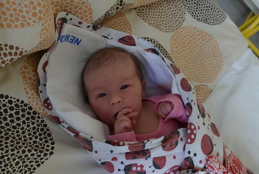 Adriana Bicanová z Písku. Dcera Pavly a Petra Bicanových se narodila 28. 5. 2021 ve 14.21 hodin. Při narození vážila 3350 g a měřila 50 cm. Doma ji přivítal bráška Jáchym (3).