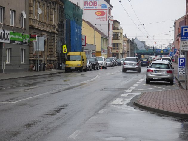 Rudolfovská ulice.