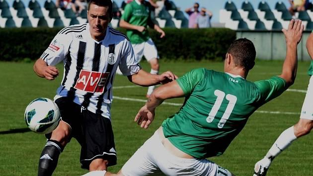 Pavol Poliaček se v dresu Dynama uvedl na Vltavínu gólem.
