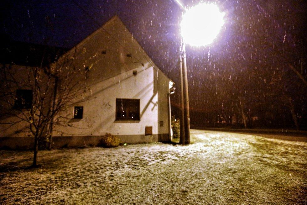 První sníh v Plavu - 12. 11.
