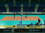 Volejbalisté české reprezentace v dějišti ME v Polsku