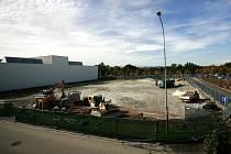 Na tomto místě vyroste hala za tři sta milionů korun.