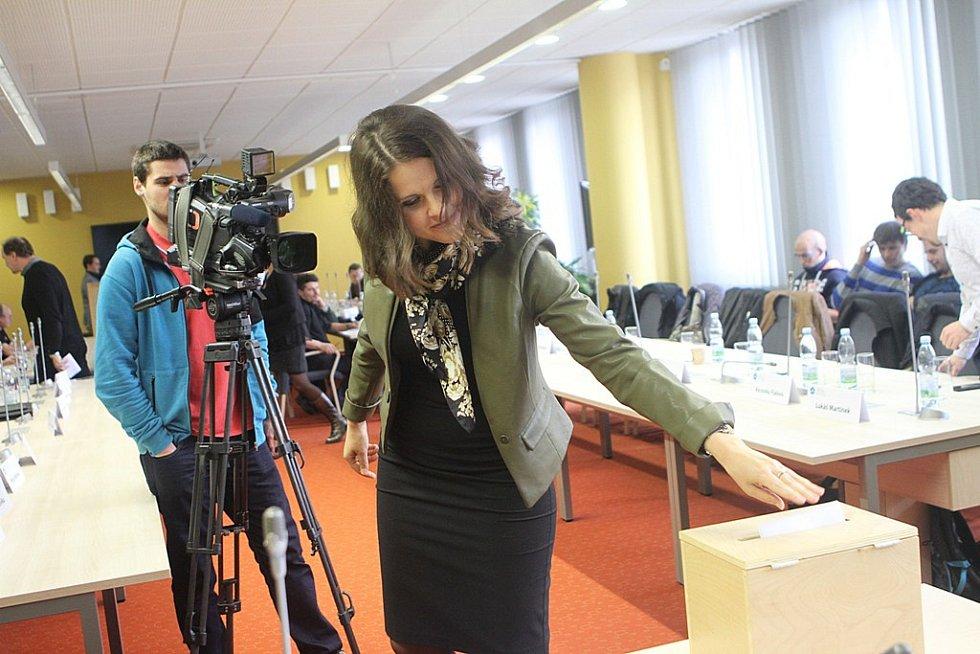 Kandidátem na rektora Jihočeské univerzity zvolili ve čtvrtek členové akademického senátu většinou 21 hlasu Tomáše Machulu.