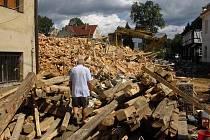 Do severočeské Chrastavy míří pomoc z jižních Čech.