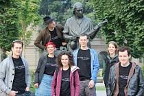 Zvídaví studenti z Hallstattu v Cremoně.