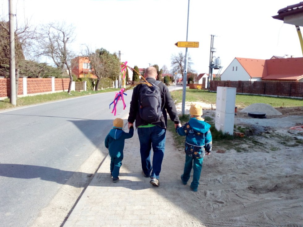Cesta za koledou, Křenovice.