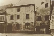 Adamcův dům  před rokem 1930.