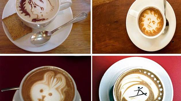 Nový trend v podávání kávy, tzv. Latte Art dokazuje, že i šálek tolik oblíbeného nápoje může být uměním.