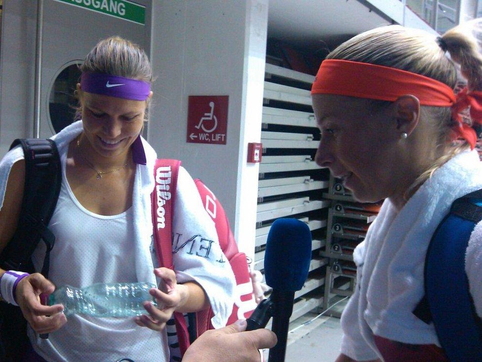 V Linci se hraje světový ženský tenis, Lucie Hradecká a Andrea Hlaváčková