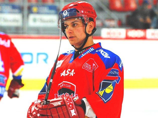 Petr Gřegořek patří k oporám zadních řad hokejistů HC Mountfield.