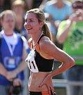 Mistrovství ČR v atletice v Táboře. 200 m ženy finále. Vítež -  Denisa Rosolová