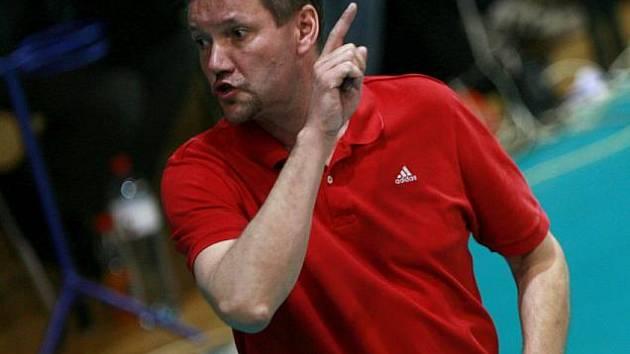 Trenér Petr Brom byl po utkání spokojený. Jeho tým vyhrál nad Příbramí 3:2.