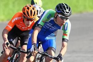 Cyklista Jakub Pileček