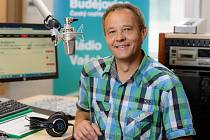 Moderátor Martin Hlaváček.