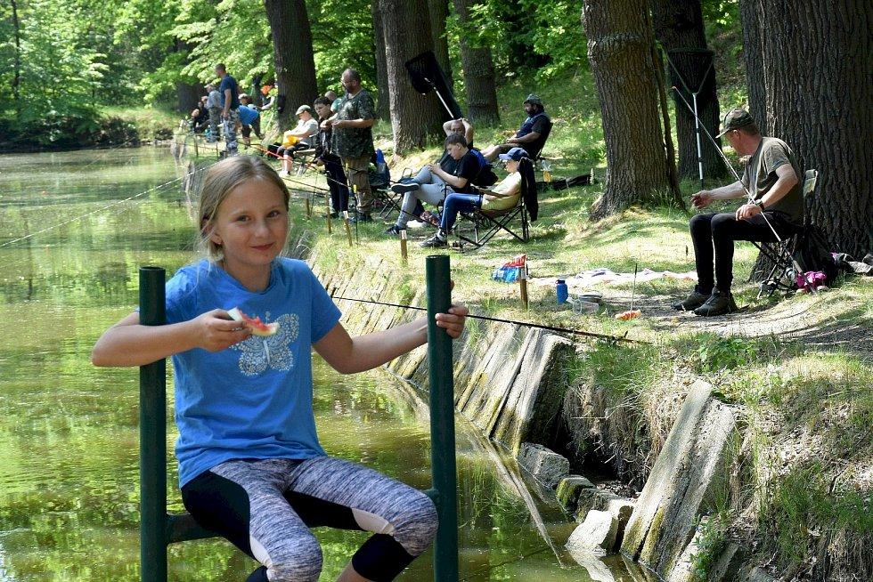 Rybářské závody v Dívčicích